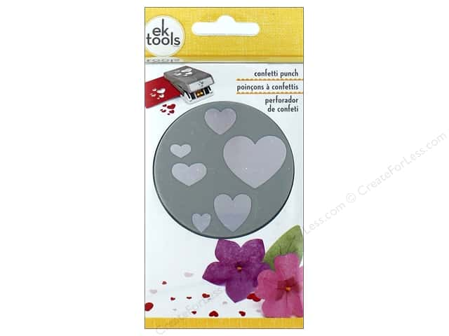 EK Punch Large Confetti Hearts