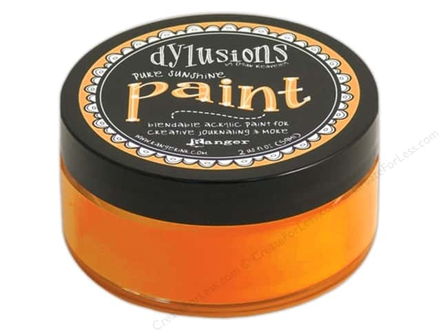 Ranger Dylusions Paint 2 oz. Pure Sunshine