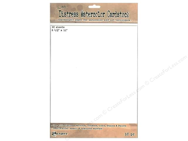 Ranger Tim Holtz Distress Watercolor Cardstock 10 pc.