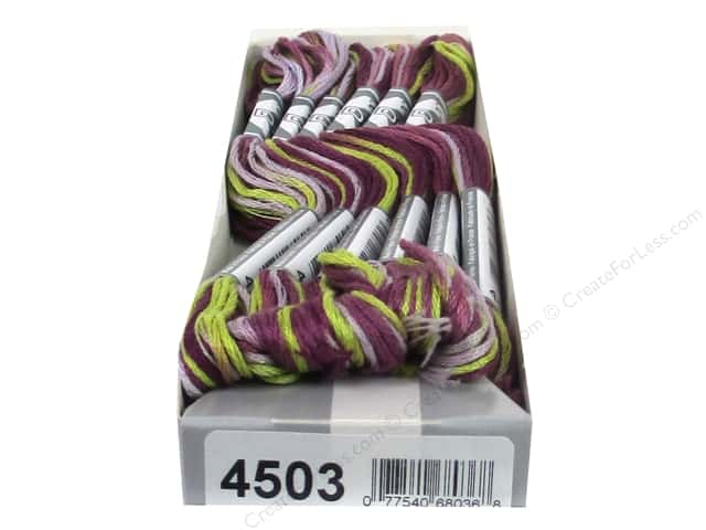 DMC Coloris Embroidery Floss Wisteria (6 skeins)