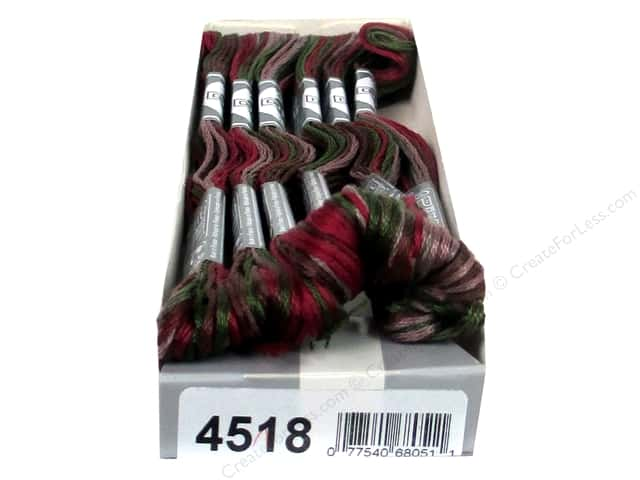 DMC Coloris Embroidery Floss Cottage (6 skeins)