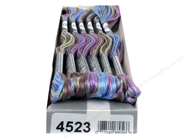 DMC Coloris Embroidery Floss North Wind (6 skeins)