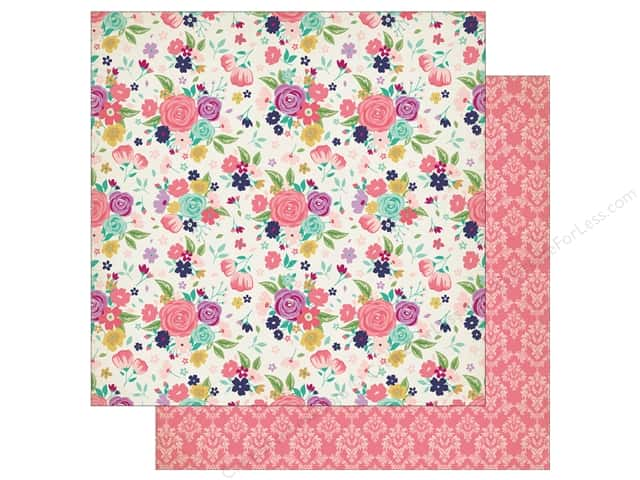 "Echo Park Collection Once Upon A Time Paper 12""x 12"" Royal Garden (25 pieces)"