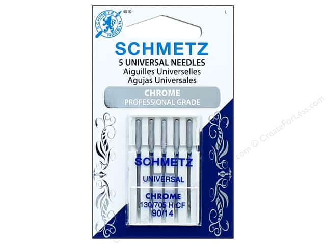 Schmetz Universal Needle Chrome Size 90/14 5pc