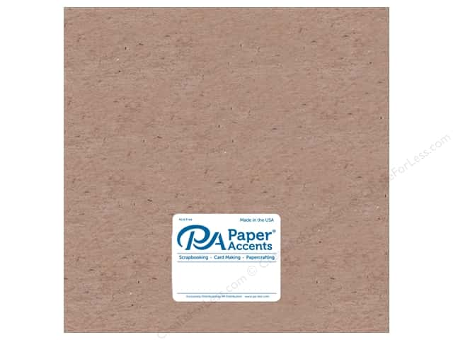 Paper Accents Chipboard 12 x 12 in. 52 pt. Extra Heavy Natural 5 pc.