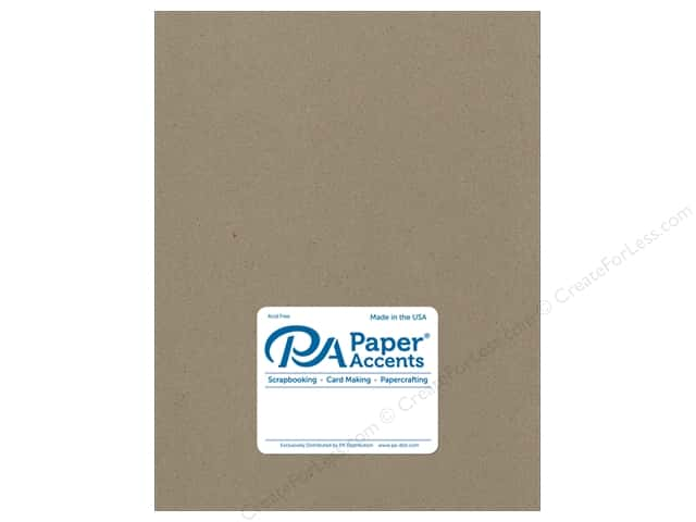 Paper Accents Chipboard 8 1/2 x 11 in. 32 pt. XL Heavy Natural 5 pc.