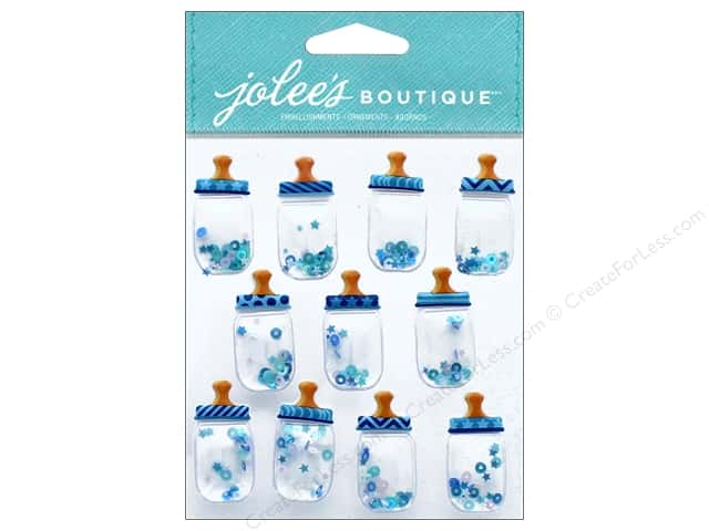 EK Jolee's Boutique Repeats Baby Boy Bottle Dome