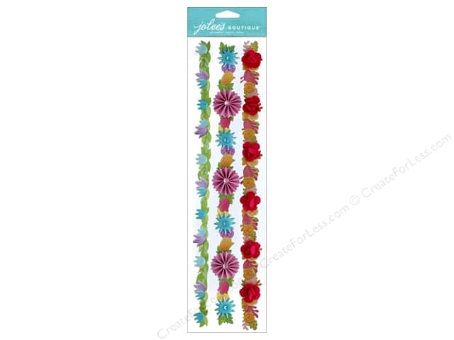 EK Jolee's Boutique Border Bright Flowers