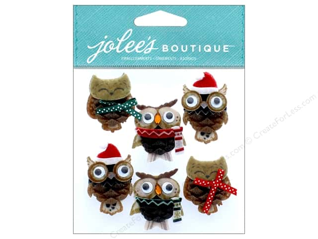 EK Jolee's Boutique Repeats Pinecone Owl