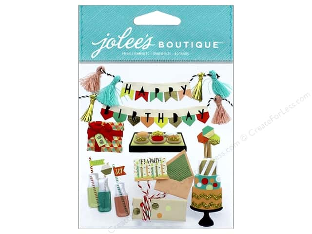 EK Jolee's Boutique Mod Happy Birthday
