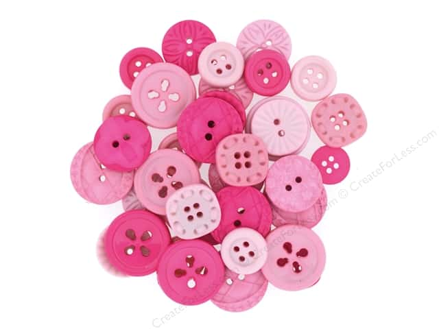 Jesse James Embellishments Color Me Hot Pink