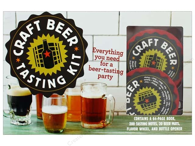 Craft Beer Tasting Guide Book and Kit