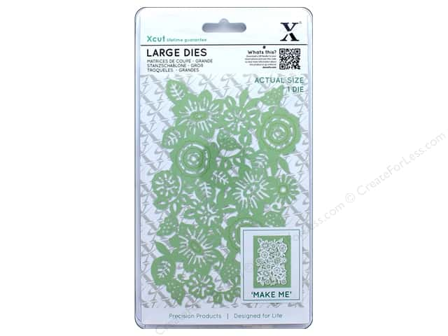 Docrafts Xcut Large Die Floral Panel