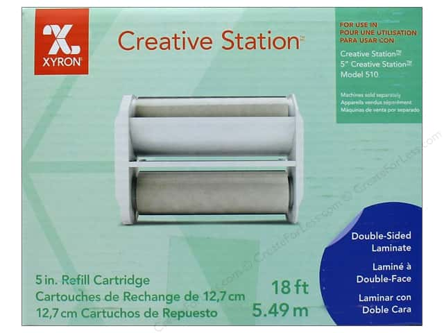 Xyron 5 in. Refill Cartridge 18 ft. Two Sided Laminate