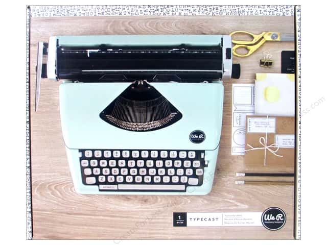 We R Memory Collection Typecast Typewriter Mint