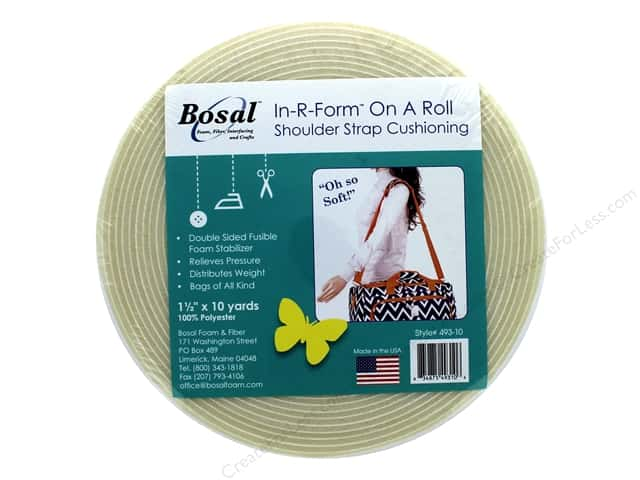 Bosal In R Form On A Roll Shoulder Strap Cushioning 1 1/2 in. x 10 yd.