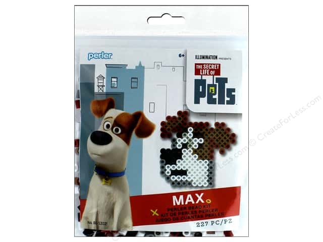 Perler Fused Bead Kit Trial Secret Life Of Pets Max
