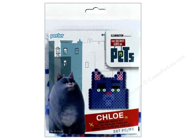 Perler Fused Bead Kit Trial Secret Life Of Pets Chloe