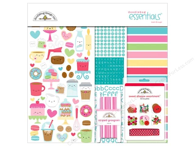 Doodlebug Collection Cream & Sugar Essentials Kit