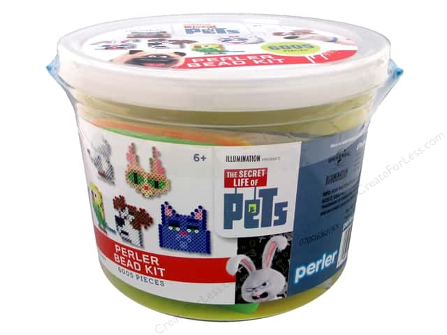 Perler Fused Bead Kit Bucket Secret Life Of Pets 6005pc
