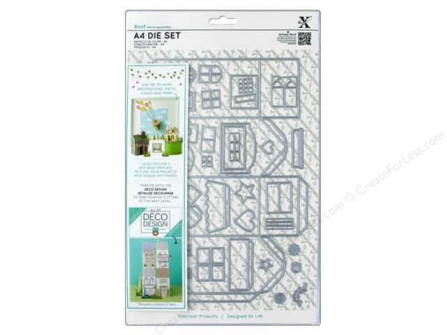 Docrafts Xcut Die Set A4 Deco Design House