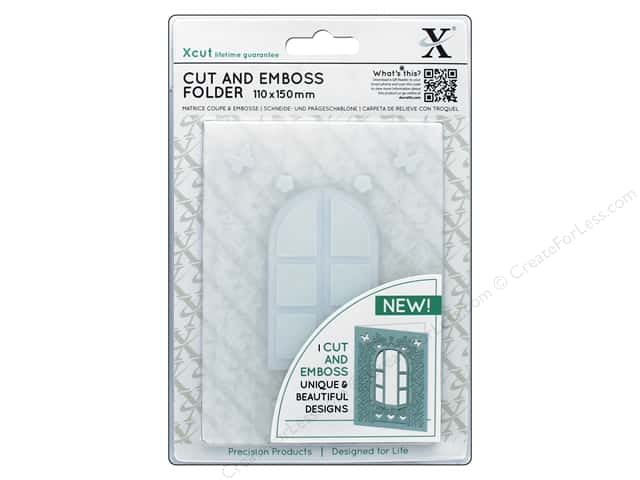 Docrafts Xcut Cut & Emboss Folder A6 Cottage Window