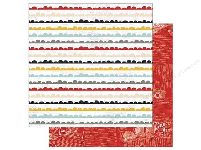 """Simple Stories Collection Say Cheese III Paper 12""""x 12"""" Dream Big (25 pieces)"""