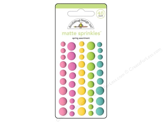 Doodlebug Collection Spring Thing Sprinkles Assortment Matte