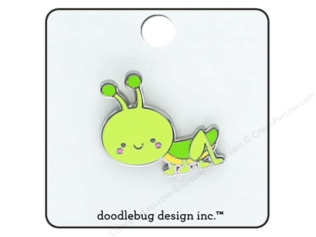 Doodlebug Collection Spring Thing Enamel Pin Hopper