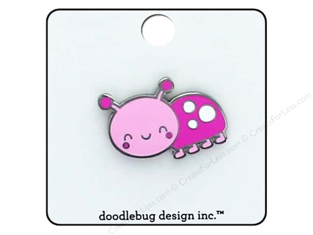Doodlebug Collection Spring Thing Enamel Pin Little Lady