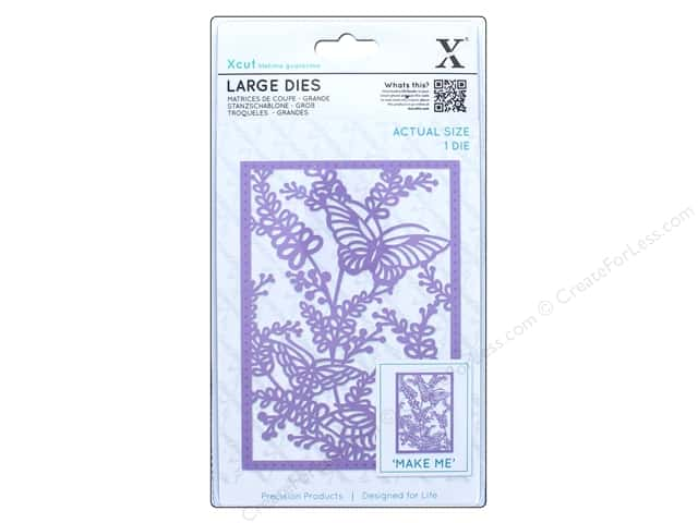 Docrafts Xcut Large Die Meadow Butterflies