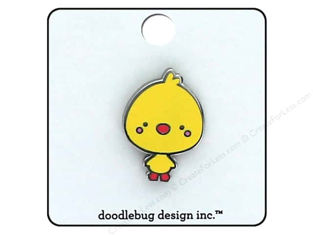 Doodlebug Collection Easter Express Enamel Pin Chicky