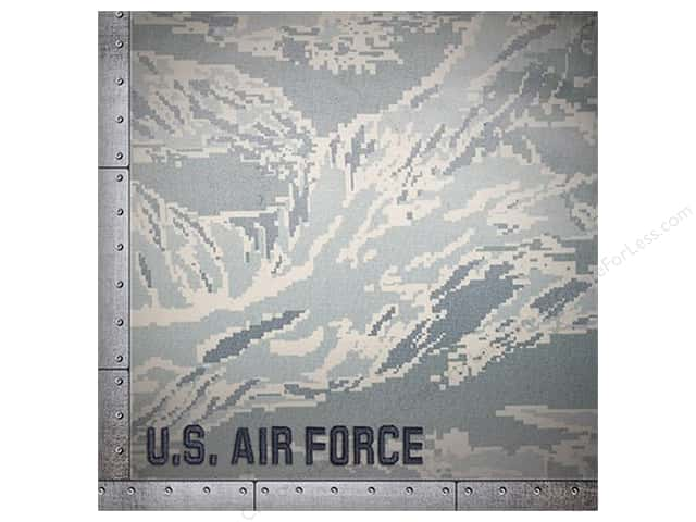 Paper House 12 x 12 in. Paper Air Force Camo (25 sheets)