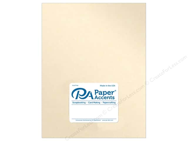 Paper Accents Pearlized Paper 8 1/2 x 11 in. #8820 Cameo 5 pc.