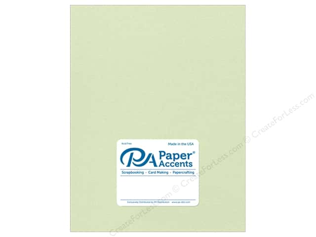 Paper Accents Pearlized Paper 8 1/2 x 11 in. #8842 Honeydew 5 pc.