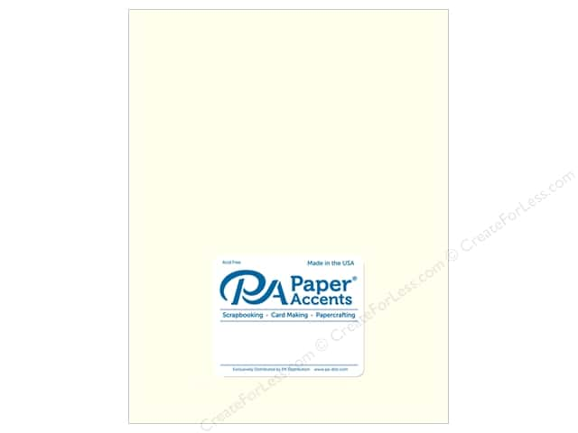 Paper Accents Cardstock 8 1/2 x 11 in. #893C Pearlized Pearl 5 pc.