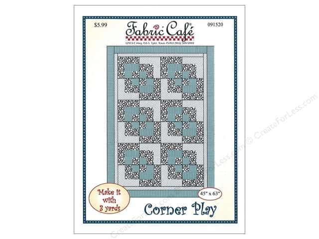 Fabric Cafe Corner Play 3 Yard Quilt Pattern