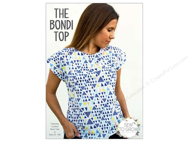 Sew To Grow The Bondi Top Size XS-XXL Pattern