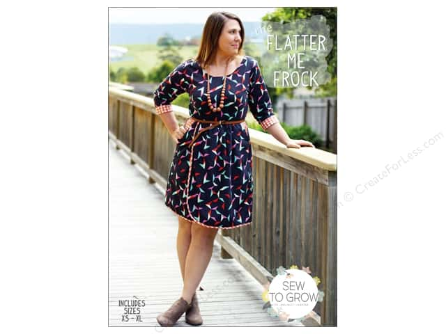 Sew To Grow The Flatter Me Frock Size XS-XL Pattern