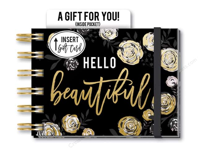 Lady Jayne Note Pad Spiral With Pocket Hello Beautiful