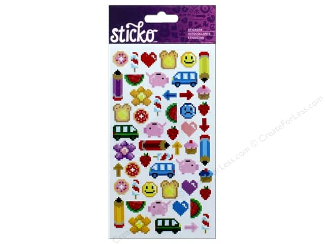 EK Sticko Stickers Pixel Art