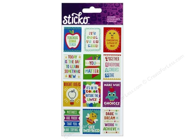 EK Sticko Stickers Mini Teacher Posters