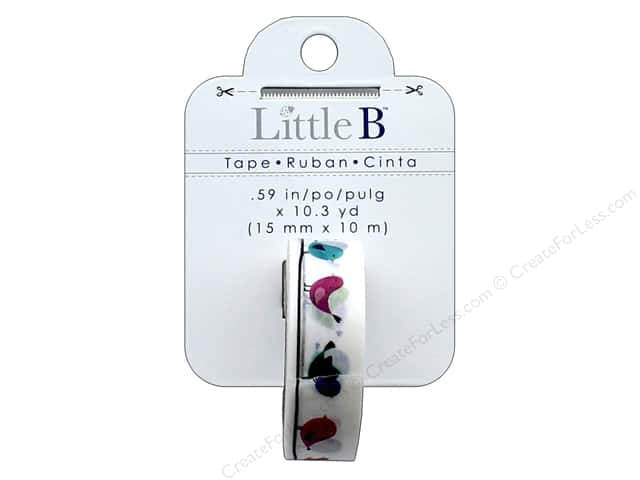Little B Decorative Paper Tape 5/8 in. Little Birds