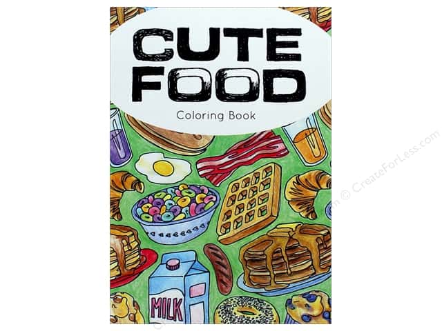 Paper Accents Creative Coloring Cute Food Coloring Book