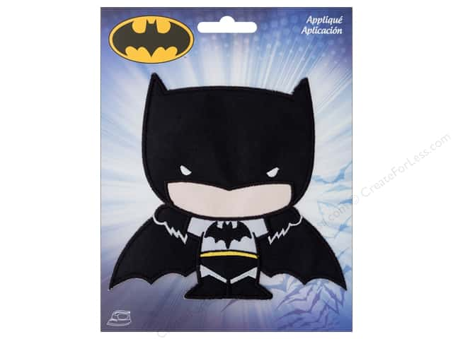 Simplicity Applique Iron On Large Batman Character