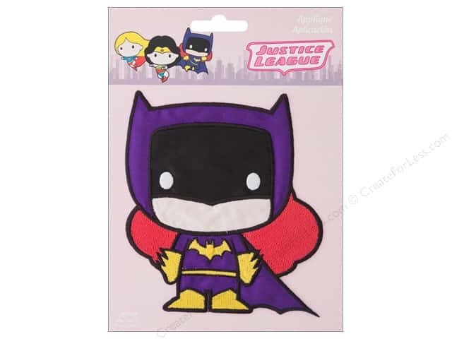 Simplicity Applique Iron On Large Batgirl Character