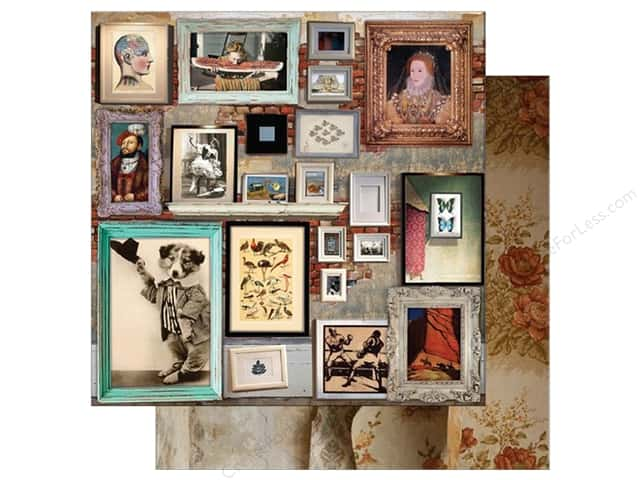 "7 Gypsies Collection Architextures Paper 12""x 12"" Art Wall (15 pieces)"