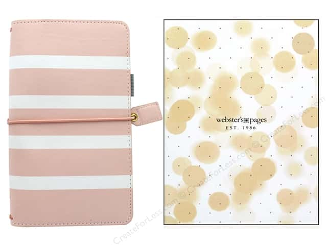 Webster's Pages Color Crush Planner Traveler Blush Stripe Boxed