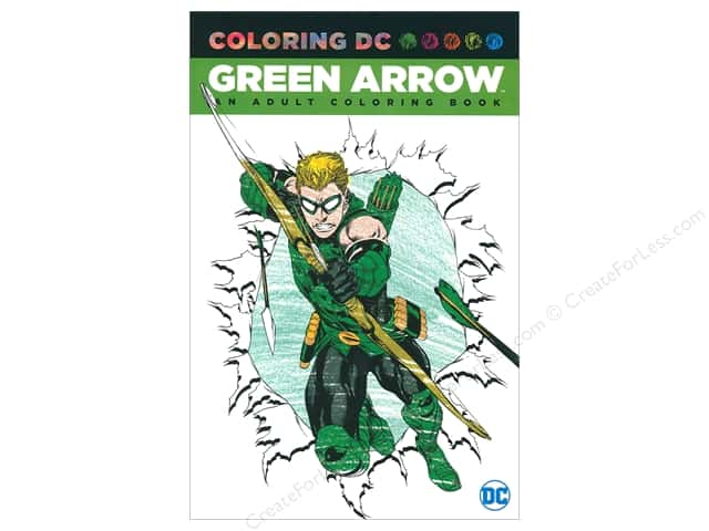 DC Comics Green Arrow Coloring Book