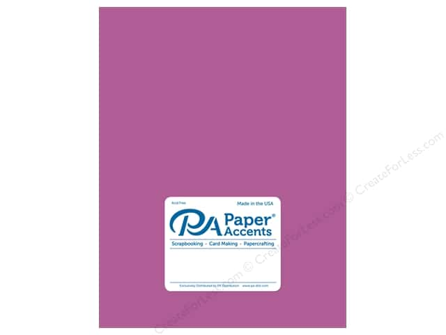Paper Accents Cardstock 8 1/2 x 11 in. #8849 Fluorescent Neon Purple 5 pc.